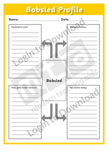 Bobsled Profile