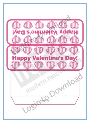 Valentine's Desk Cards