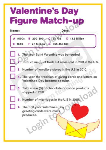 Valentine's Day Figure Match-up