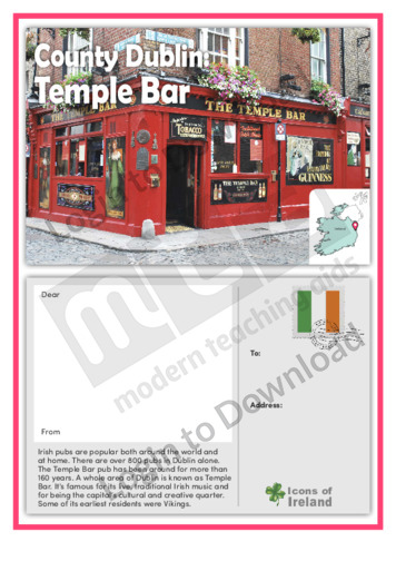 County Dublin: Temple Bar