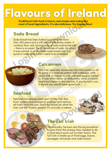 Flavours of Ireland