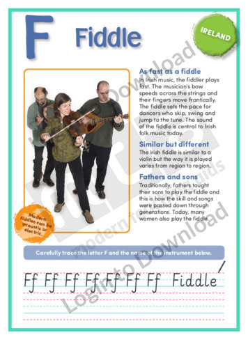 F: Fiddle