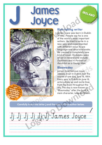 J: James Joyce