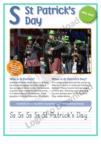 S: St Patrick's Day