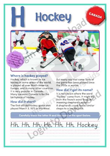 H: Hockey