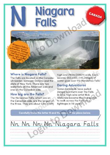 N: Niagara Falls