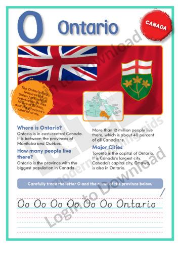 O: Ontario