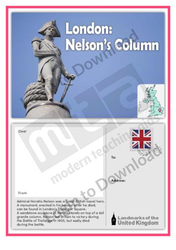 London: Nelson's Column
