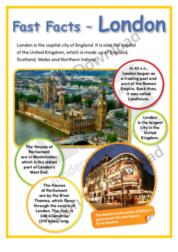 Fast Facts – London