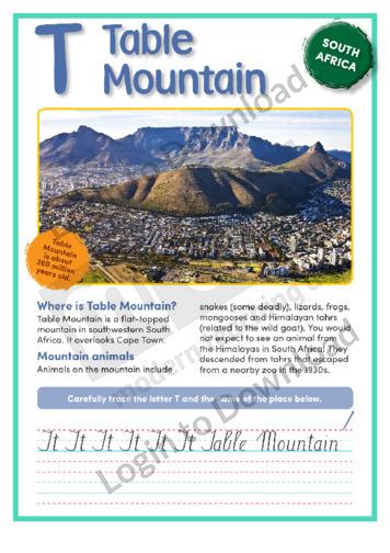 T: Table Mountain