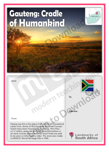 Gauteng: Cradle of Humankind