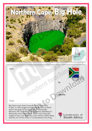 Northern Cape: Big Hole