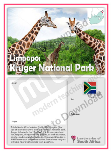 Limpopo: Kruger National Park
