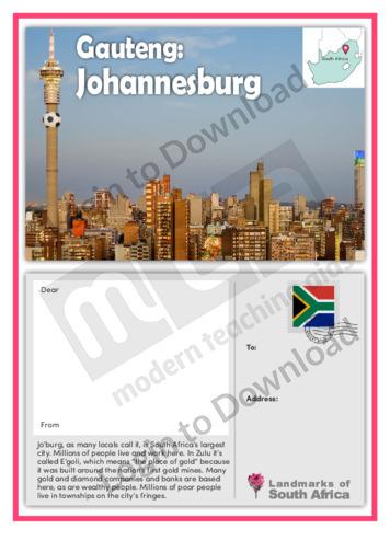Gauteng: Johannesburg
