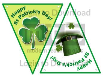 Happy St Patrick's Day Bunting