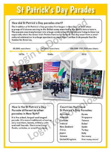 St Patrick's Day Parades
