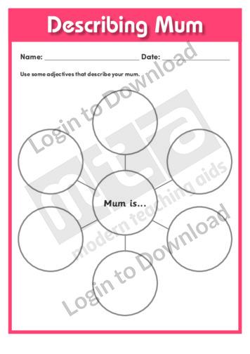 Describing Mum