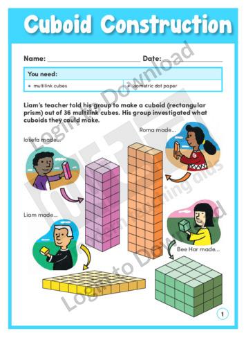 Cuboid Construction