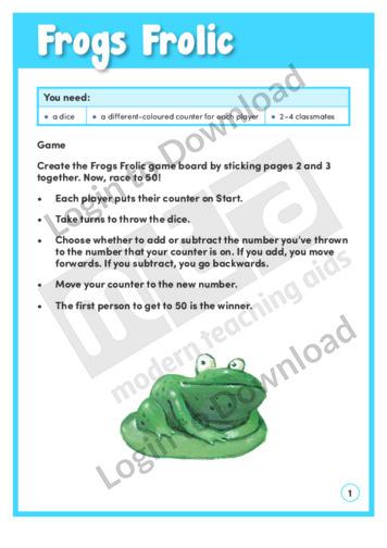 Frogs Frolic