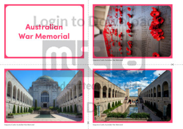 Australian War Memorial Photo Cards