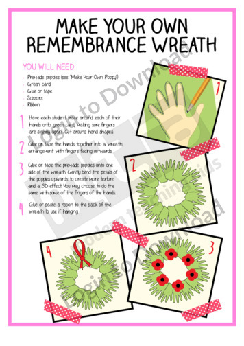 Make Your Own Remembrance Wreath