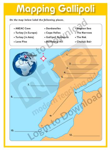 Mapping Gallipoli
