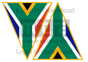 South African Flag Bunting