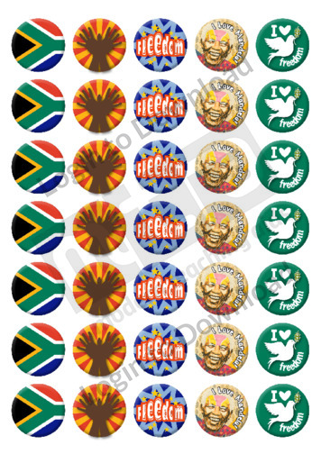 Freedom Day Stickers