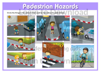Pedestrian Hazards