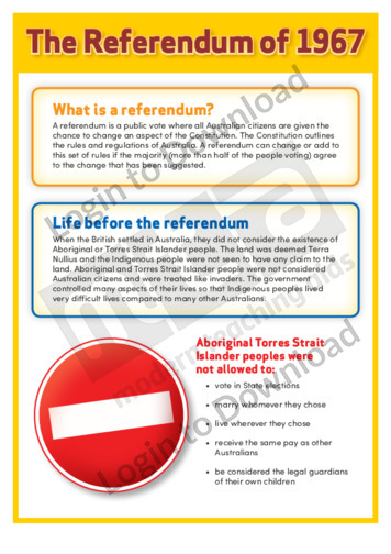 The Referendum of 1967