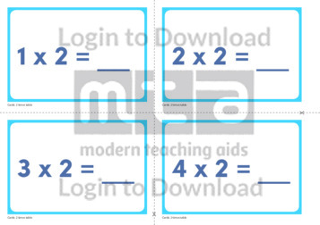 2 Times Table Cards (2)