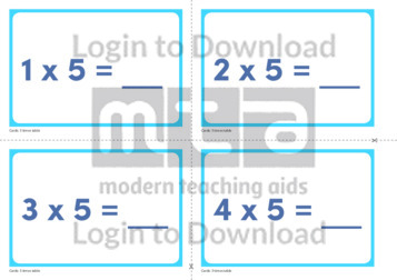 5 Times Table Cards (2)