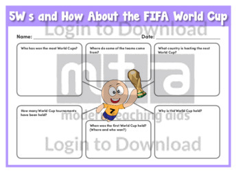 5Ws and How About the FIFA World Cup