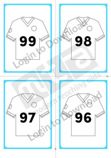 Soccer Shirt Cards