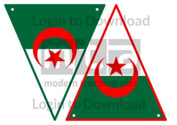 Algerian Flag Bunting