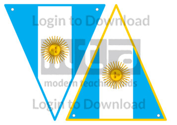 Argentine Flag Bunting