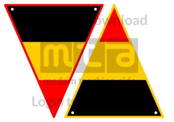 Belgian Flag Bunting