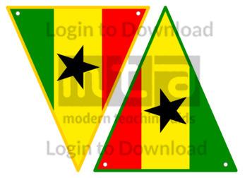 Ghanaian Flag Bunting