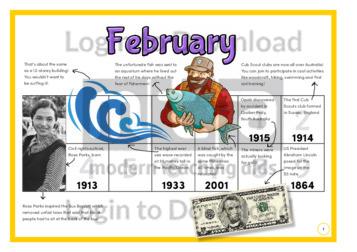History at a Glance: February (2)