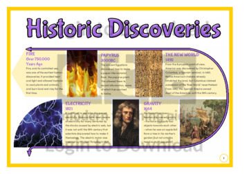 Historic Discoveries