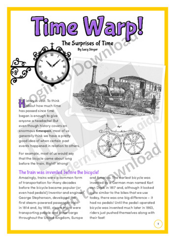 Time Warp! The Surprises of Time