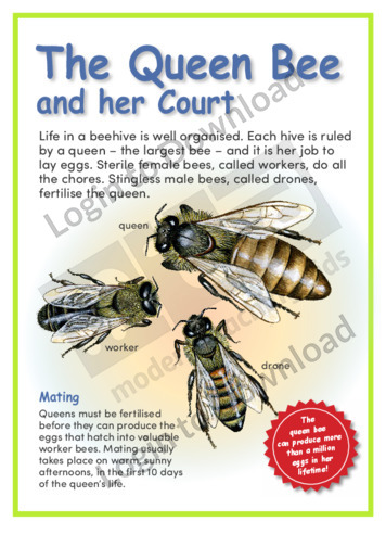 The Queen Bee and her Court