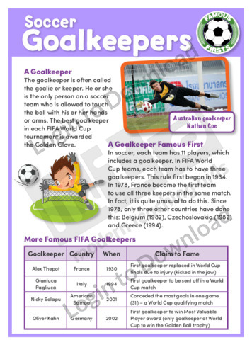 Soccer Goalkeepers