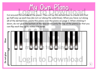My Own Piano