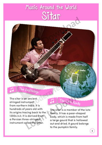 Music Around the World: Sitar