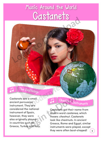 Music Around the World: Castanets