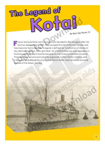 The Legend of Kotai