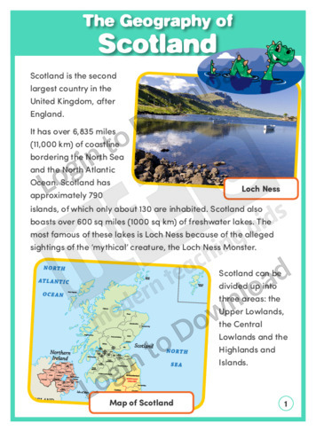 The Geography of Scotland