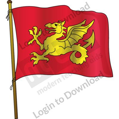 Anglo-Saxon flag
