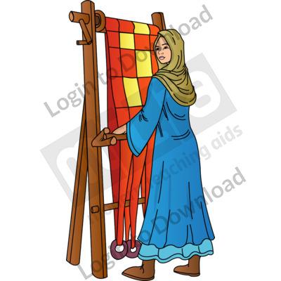 Anglo-Saxon weaver